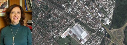 Dra. Adriana Rofman-imagen satelitar del área de la RMBA